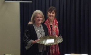 Presentation to outgoing President Mave Richardson